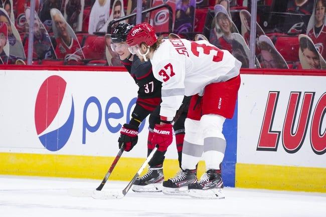 Detroit Red Wings vs Carolina Hurricanes NHL Picks, Odds, Predictions 3/14/21