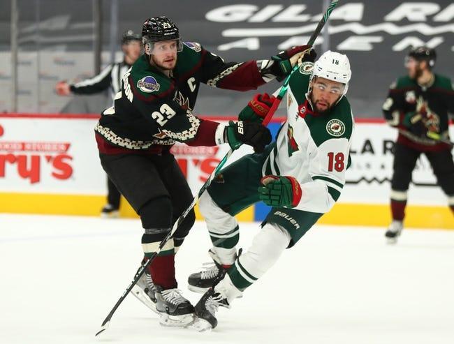 Arizona Coyotes vs Minnesota Wild NHL Picks, Odds, Predictions 3/6/21
