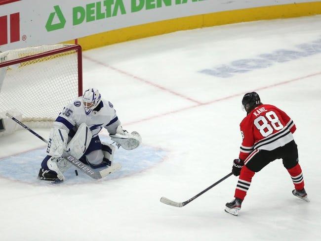 Chicago Blackhawks vs Tampa Bay Lightning NHL Picks, Odds, Predictions 3/7/21