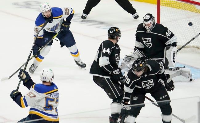 Los Angeles Kings vs St. Louis Blues NHL Picks, Odds, Predictions 3/6/21