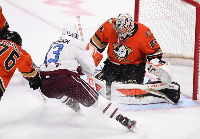 Colorado Avalanche vs Anaheim Ducks NHL Picks, Odds, Predictions 3/6/21