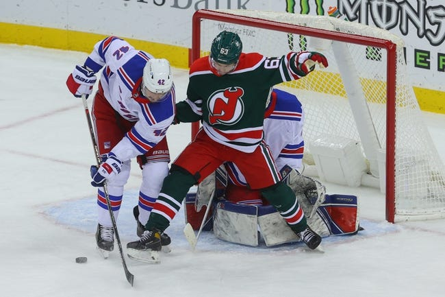 New York Rangers at New Jersey Devils - 4/13/21 NHL Picks and Prediction