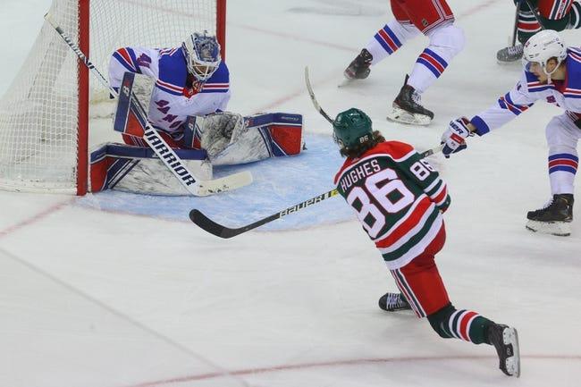 New Jersey Devils vs New York Rangers NHL Picks, Odds, Predictions 4/13/21
