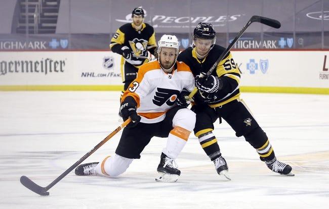 Philadelphia Flyers at Pittsburgh Penguins - 4/15/21 NHL Picks and Prediction