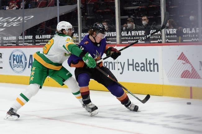 Minnesota Wild vs Arizona Coyotes NHL Picks, Odds, Predictions 3/12/21