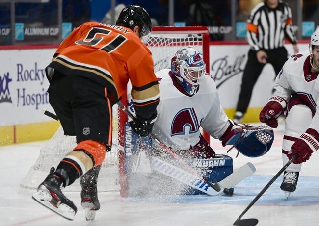 Colorado Avalanche vs Anaheim Ducks NHL Picks, Odds, Predictions 3/16/21
