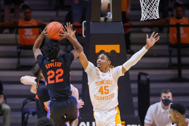 Florida at Tennessee: 3/12/21 College Basketball Picks and Predictions