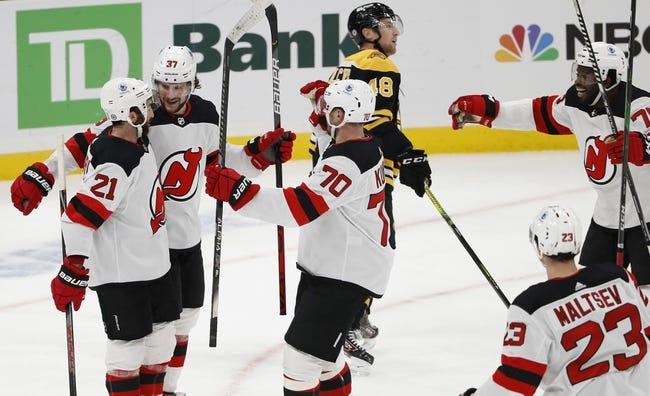 Boston Bruins vs New Jersey Devils NHL Picks, Odds, Predictions 3/28/21