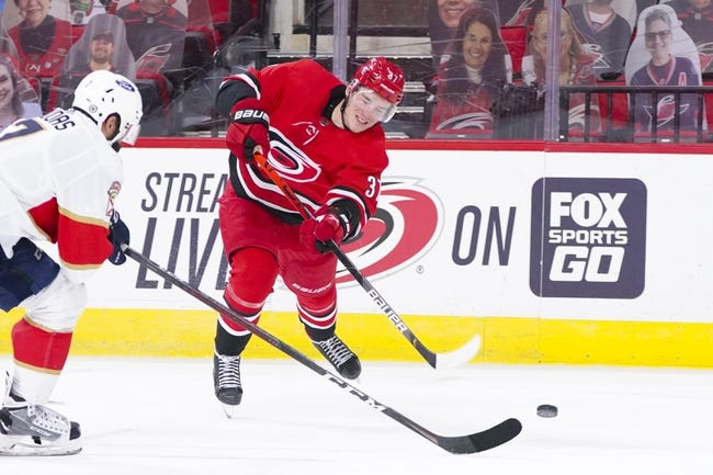 Florida Panthers at Carolina Hurricanes - 4/6/21 NHL Picks and Prediction