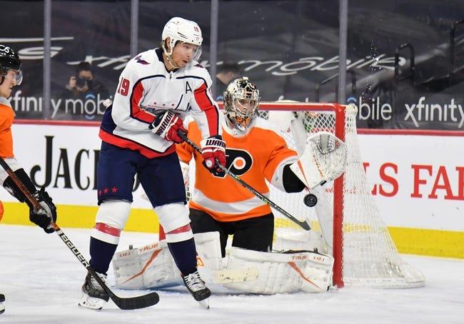 Philadelphia Flyers vs Washington Capitals NHL Picks, Odds, Predictions 3/11/21