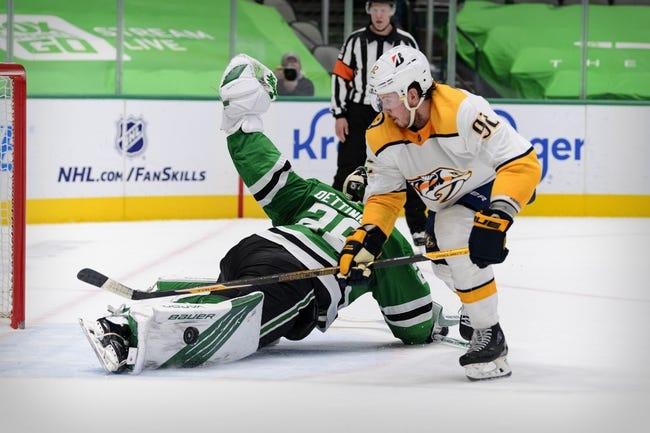 Dallas Stars vs Nashville Predators NHL Picks, Odds, Predictions 3/21/21