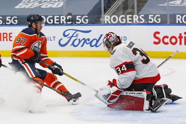 Edmonton Oilers vs Ottawa Senators NHL Picks, Odds, Predictions 3/10/21