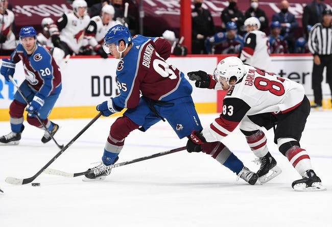 Colorado Avalanche vs Arizona Coyotes NHL Picks, Odds, Predictions 3/10/21