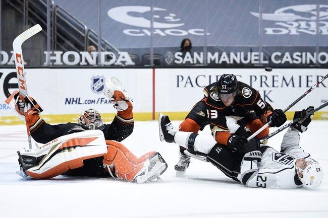 Anaheim Ducks vs Los Angeles Kings NHL Picks, Odds, Predictions 3/10/21