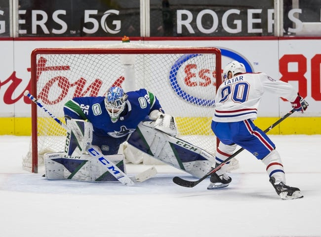 Vancouver Canucks vs Montreal Canadiens NHL Picks, Odds, Predictions 3/10/21