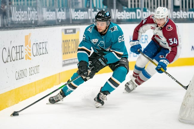 Colorado Avalanche vs San Jose Sharks NHL Picks, Odds, Predictions 4/30/21