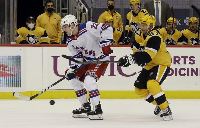 New York Rangers vs Pittsburgh Penguins NHL Picks, Odds, Predictions 4/6/21