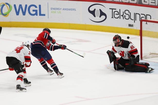 Washington Capitals vs New Jersey Devils NHL Picks, Odds, Predictions 3/25/21