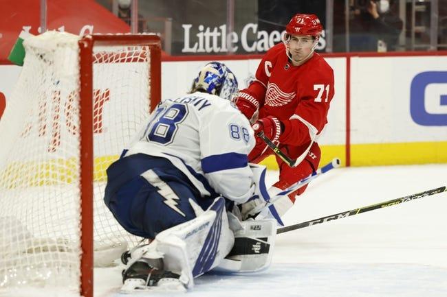 Detroit Red Wings vs Tampa Bay Lightning NHL Picks, Odds, Predictions 3/11/21