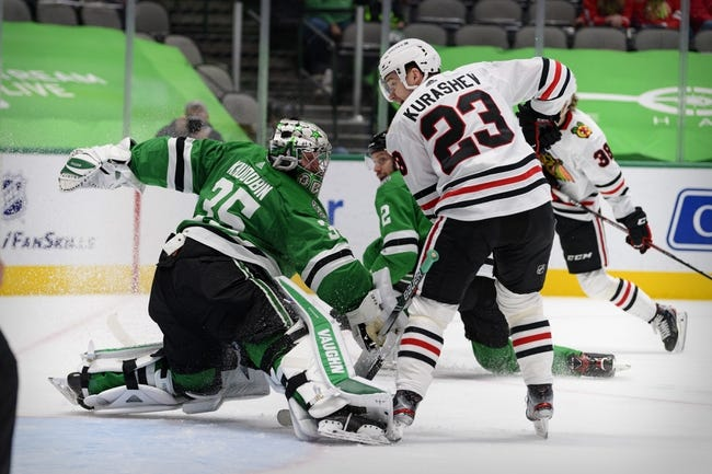 Dallas Stars vs Chicago Blackhawks NHL Picks, Odds, Predictions 3/11/21