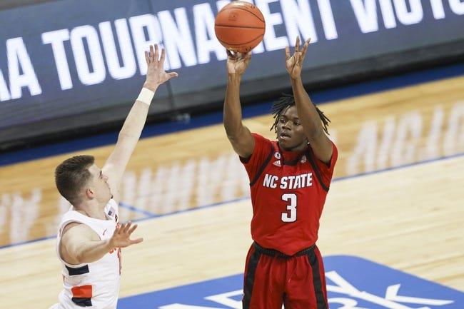North Carolina State at Davidson: 3/18/21 NIT College Basketball Picks and Predictions