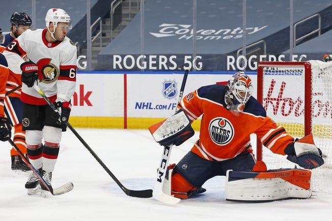 Edmonton Oilers vs Ottawa Senators NHL Picks, Odds, Predictions 3/12/21