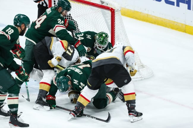 Vegas Golden Knights vs Minnesota Wild NHL Picks, Odds, Predictions 4/1/21