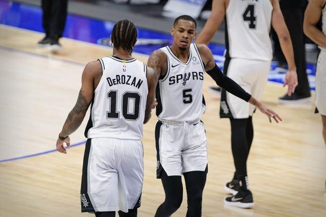 San Antonio Spurs at Detroit Pistons - 3/15/21 NBA Picks and Prediction