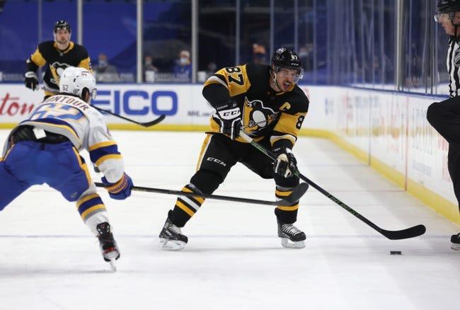 Buffalo Sabres vs Pittsburgh Penguins NHL Picks, Odds, Predictions 3/13/21