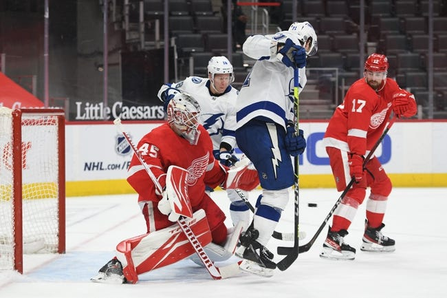 Tampa Bay Lightning vs Detroit Red Wings NHL Picks, Odds, Predictions 4/3/21