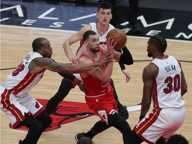Chicago Bulls vs Toronto Raptors NBA Picks, Odds, Predictions 3/14/21
