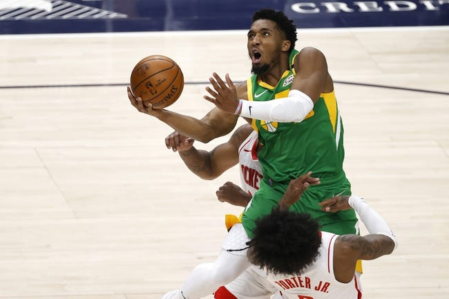 Utah Jazz at Washington Wizards - 3/18/21 NBA Picks and Prediction