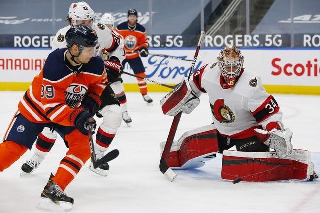 Ottawa Senators vs Edmonton Oilers NHL Picks, Odds, Predictions 4/7/21