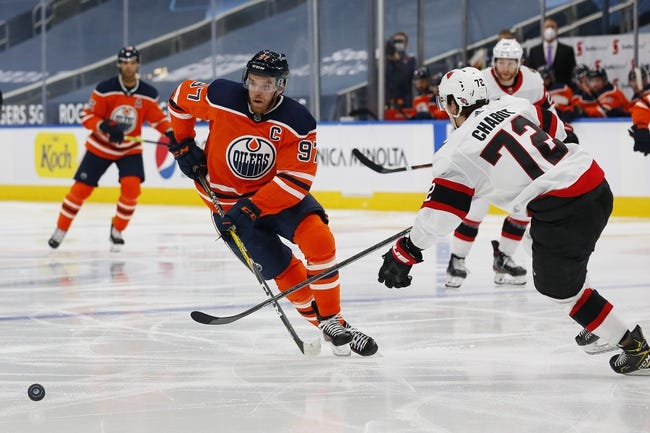 Edmonton Oilers at Ottawa Senators - 4/7/21 NHL Picks and Prediction