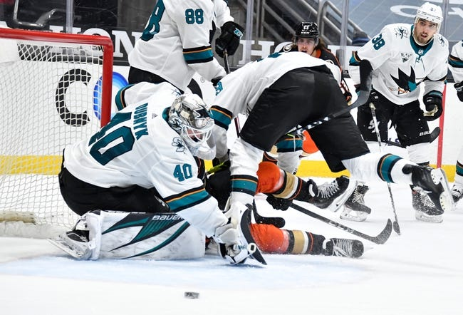 Anaheim Ducks vs San Jose Sharks NHL Picks, Odds, Predictions 3/13/21