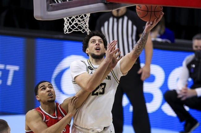 Texas Southern at Michigan: 3/20/21 NCAA Tournament College Basketball Picks and Predictions