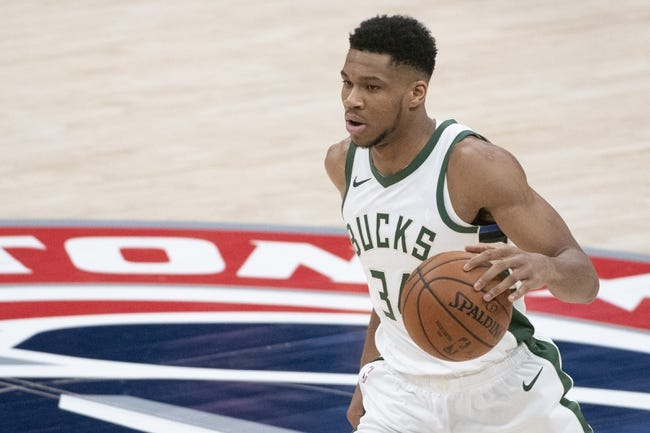Milwaukee Bucks at Washington Wizards - 3/15/21 NBA Picks and Prediction