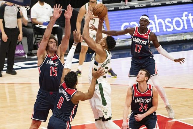 Washington Wizards vs Milwaukee Bucks NBA Picks, Odds, Predictions 3/15/21