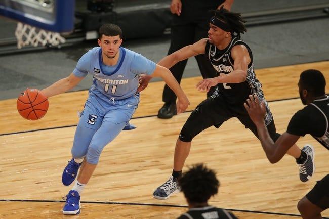 UC-Santa Barbara at Creighton: 3/20/21 NCAA Tournament College Basketball Picks and Predictions