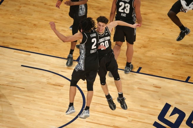 Georgetown University at Colorado: 3/20/21 NCAA Tournament College Basketball Picks and Predictions