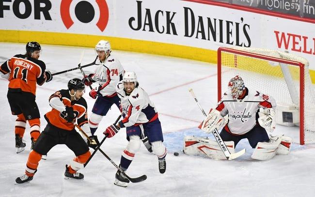 Washington Capitals vs Philadelphia Flyers NHL Picks, Odds, Predictions 4/13/21