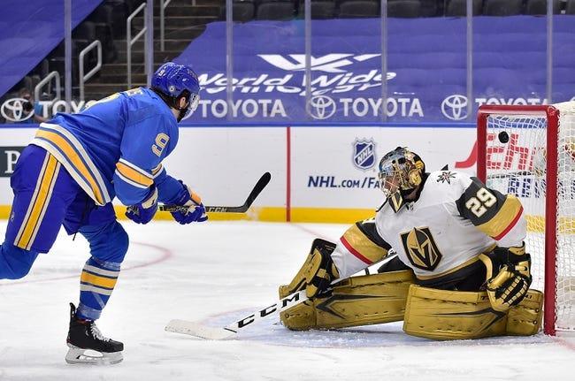 Vegas Golden Knights vs St. Louis Blues NHL Picks, Odds, Predictions 3/22/21