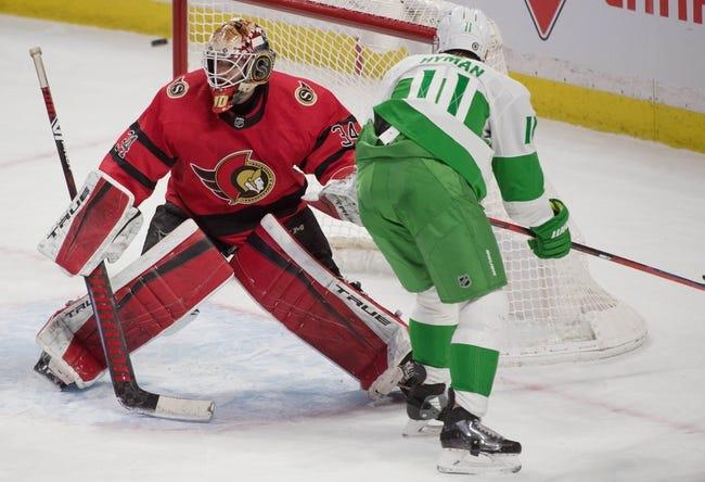 Ottawa Senators vs Toronto Maple Leafs NHL Picks, Odds, Predictions 3/25/21