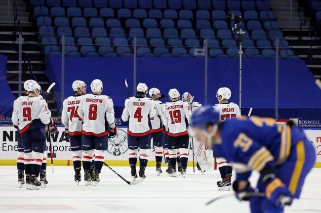 Buffalo Sabres vs Washington Capitals NHL Picks, Odds, Predictions 4/9/21