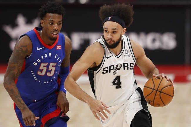 Detroit Pistons at San Antonio Spurs - 4/22/21 NBA Picks and Prediction