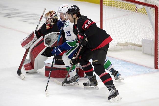 Ottawa Senators vs Vancouver Canucks NHL Picks, Odds, Predictions 3/17/21