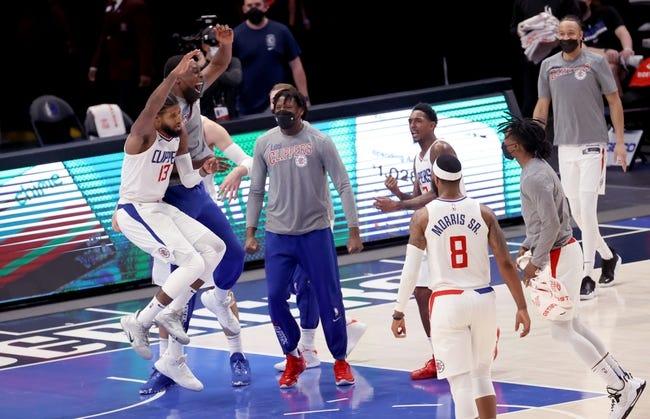 Los Angeles Clippers at Dallas Mavericks - 3/17/21 NBA Picks and Prediction
