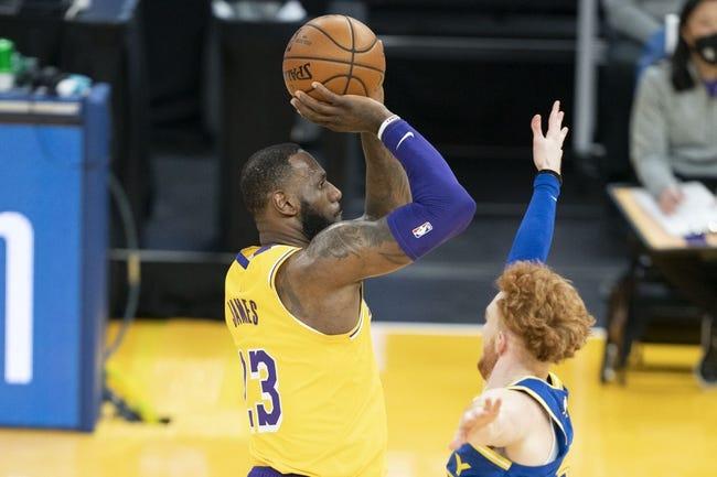Atlanta Hawks at Los Angeles Lakers - 3/20/21 NBA Picks and Prediction