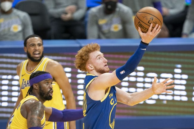 Golden State Warriors at Los Angeles Lakers - 5/19/21 NBA Picks and Prediction