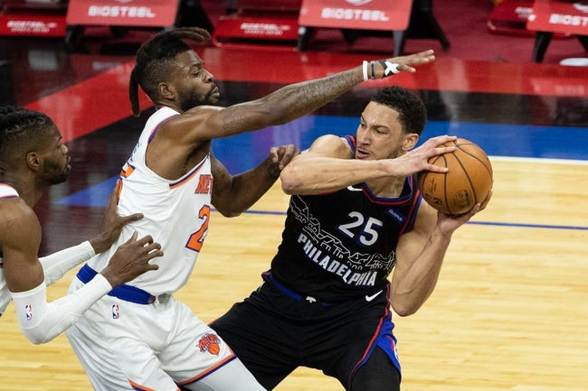 Philadelphia 76ers at New York Knicks - 3/21/21 NBA Picks and Prediction